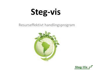 Steg-vis
