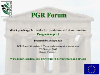 PGR Forum