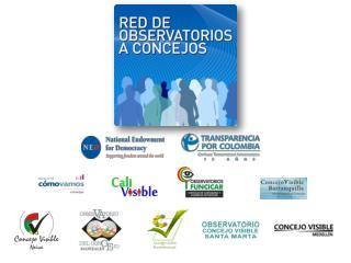 Red de Observatorios a Concejos Municipales