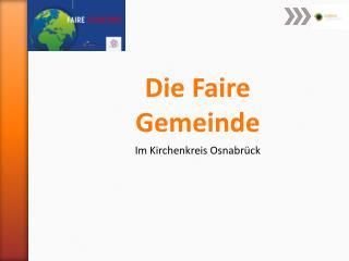 Die Faire Gemeinde Im Kirchenkreis Osnabrück