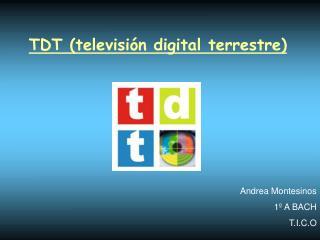 TDT televisi n digital terrestre