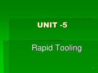 UNIT -5