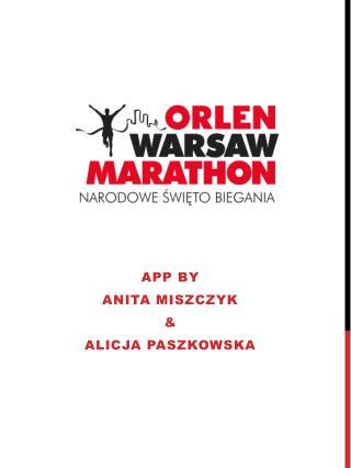 App  by Anita  miszczyk &  alicja paszkowska