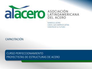 CURSO PERFECCIONAMIENTO  PROYECTISTAS DE ESTRUCTURAS DE ACERO