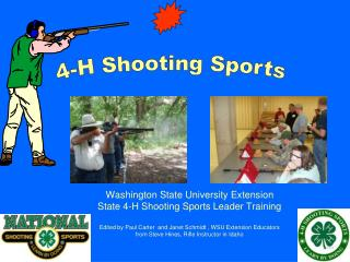 Washington State University Extension State 4-H Shooting Sports Leader Training