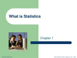 What is Statistics