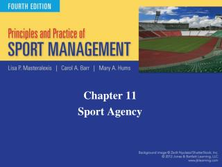 Chapter 11 Sport Agency