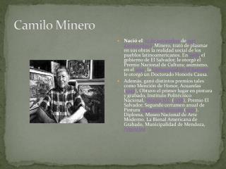 Camilo Minero