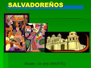 PINTORES SALVADOREÑOS