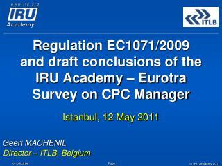 Regulation EC1071