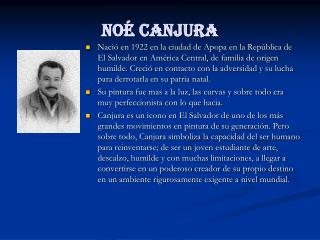 Noé Canjura