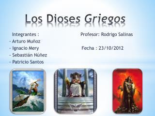 Los Diose s Griegos