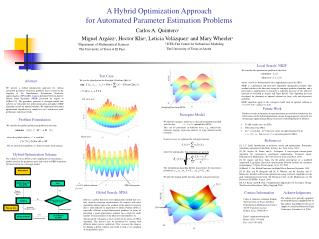 A Hybrid Optimization Approach  for Automated Parameter Estimation Problems