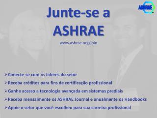 Junte -se a ASHRAE