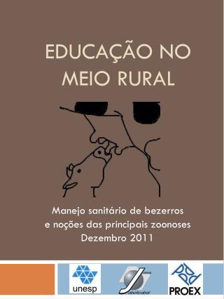 Educação no meio rural