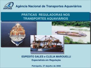 Ag�ncia Nacional de Transportes Aquavi�rios