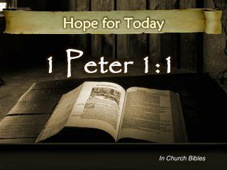 1 Peter 1:1