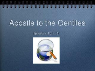 Apostle to the Gentiles