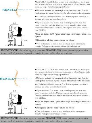 Folder Blitz de postura