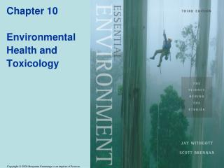 Chapter 10 Environmental Health and Toxicology