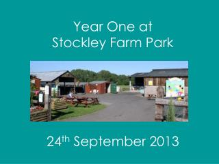 Year One at  Stockley Farm Park