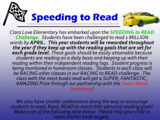 Speeding to Read