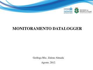 MONITORAMENTO DATALOGGER