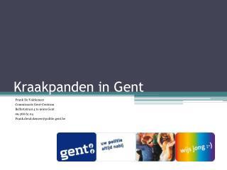 Kraakpanden in Gent