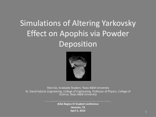 Simulations of Altering Yarkovsky Effect on Apophis via Powder Deposition