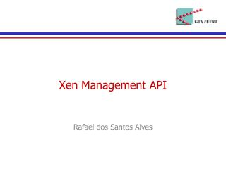 Xen Management API
