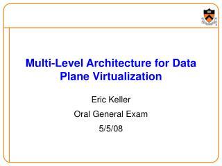 Multi-Level Architecture for Data Plane Virtualization