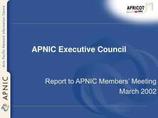 APNIC Executive Council