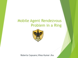 SEMINAR  ON   MOBILE AGENTS