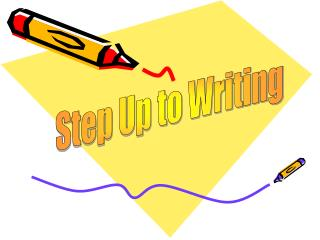 Step Up to Writing