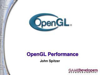 OpenGL Performance