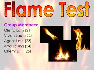 Group Members: Oletta Lam (21) Vivien Lau   (22) Agnes Lau  (23) Ada Leung (24) Cherry Li     (25)