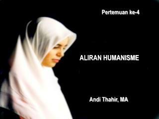 ALIRAN HUMANISME