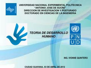 """UNIVERSIDAD NACIONAL EXPERIMENTAL POLITECNICA  """"ANTONIO JOSE DE SUCRE"""""""