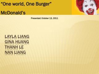Layla  Liang Gina  huang thanh  le nan  liang