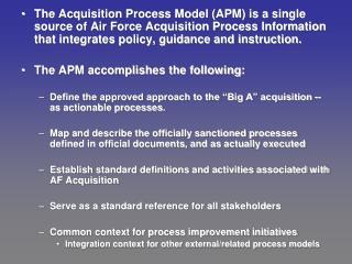 APM Navigation Frame