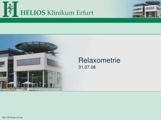Relaxometrie 31.07.08