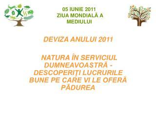 DEVIZA ANULUI 2011