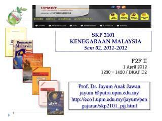 SKP  2101 KENEGARAAN MALAYSIA Sem  02, 2011-2012