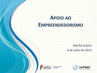 Apoio  ao  Empreendedorismo