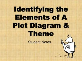 Identifying the Elements of A Plot Diagram & Theme