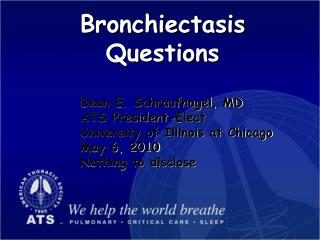 Bronchiectasis Questions
