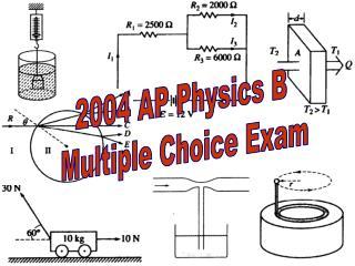 2004 AP Physics B  Multiple Choice Exam