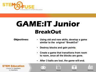 GAME:IT Junior