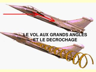 LE VOL AUX GRANDS ANGLES ET LE DECROCHAGE