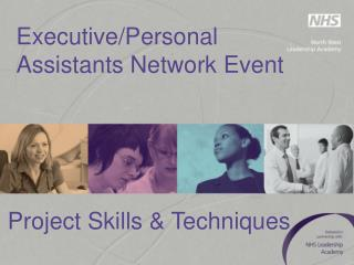 Executive/Personal Assistants Network Event